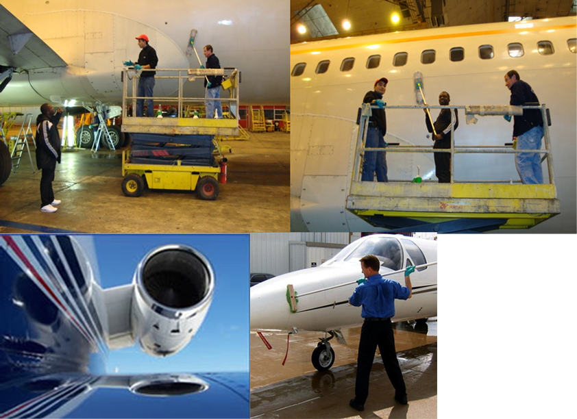Aircraft Interior Exterior Cleaning Services Avidan Support